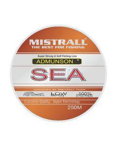 Леска Mistrall Admunson Sea orange 250m 0.40mm