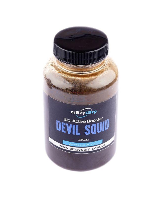 Бустер Crazy Carp Bio-Active devil squid 250ml