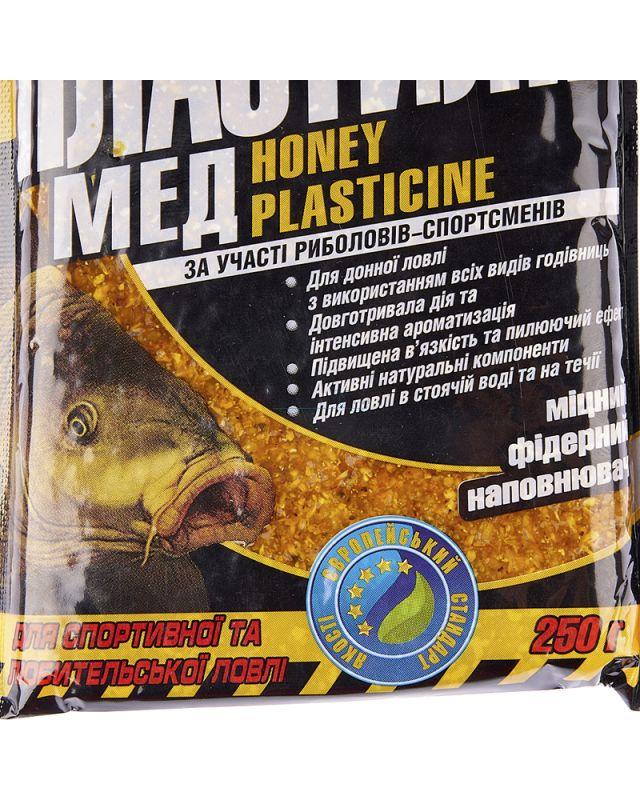 Пластилин Megamix мед 250g