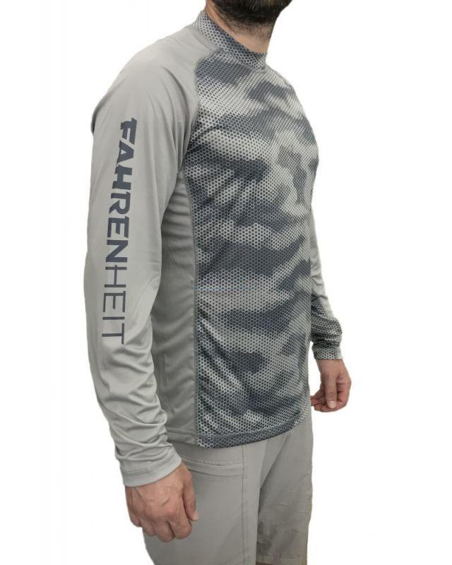 Блуза Fahrenheit SG gray camo M/R